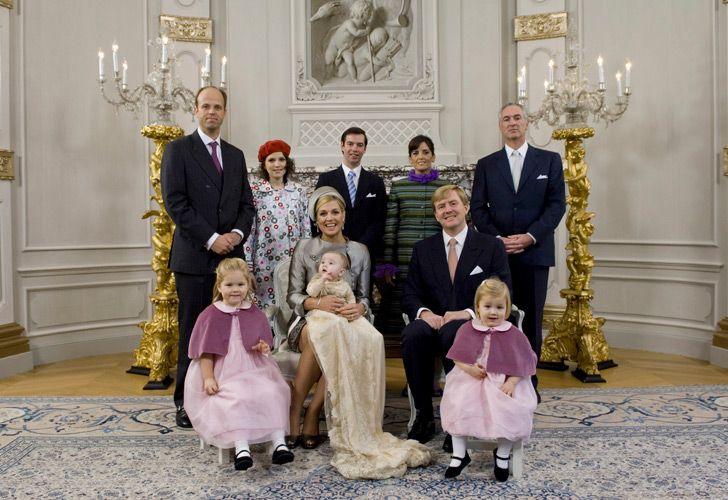 Queen Máxima's sister Inés Zorreguieta (second from left, top row) has been found dead in her Buenos Aires apartment.