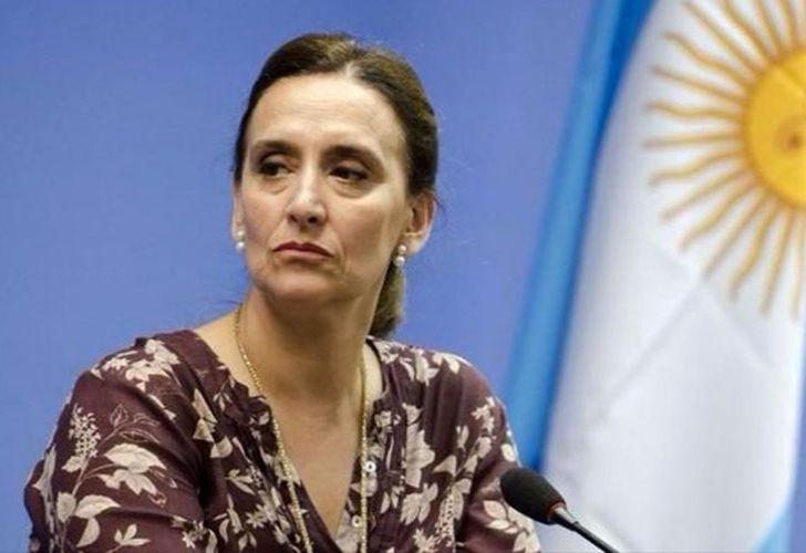 Argentina's Vice-President Gabriela Michetti.