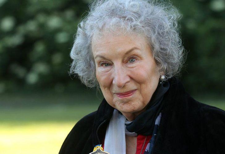 Canadian writer Margaret Atwood.