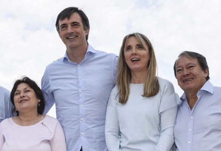 Cambiemos' 2017 mid-term election ticket. Left to right: Graciela Ocaña, Esteban Bullrich, Gladys González and Héctor Flores.