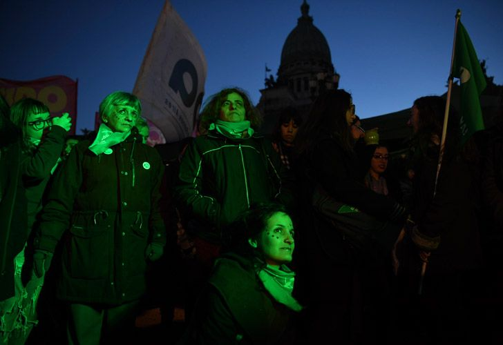 Argentina's Senate on Tuesday began debating a historic abortion bill passed by the Chamber of Deputies last month.