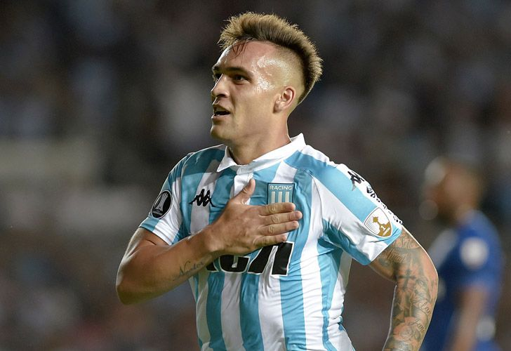 Inter Milan have signed Argentina forward Lautaro Martínez from Racing Club, it was announced on Wednesday.