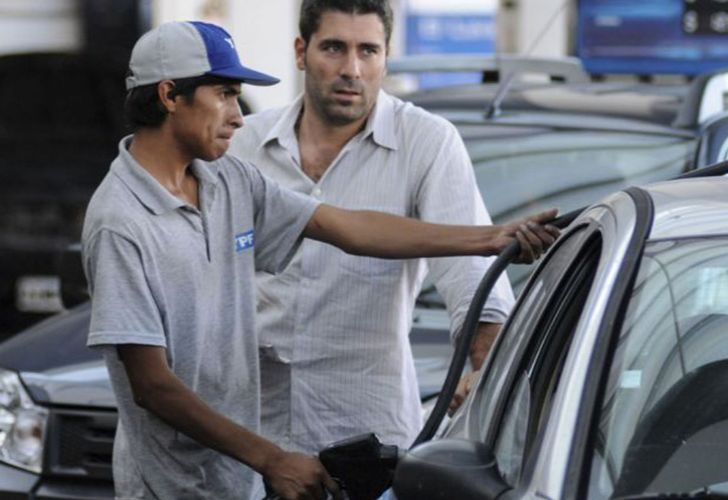Fuel prices have soared for Argentine drivers in 2018.
