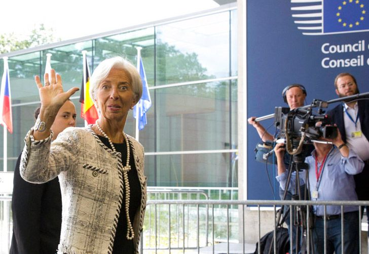 Managing Director of the International Monetary Fund Christine Lagarde