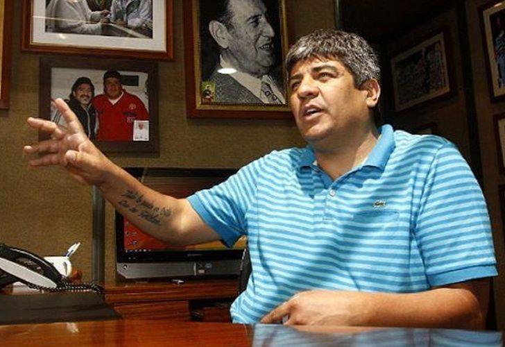 Teamsters Union boss Pablo Moyano.