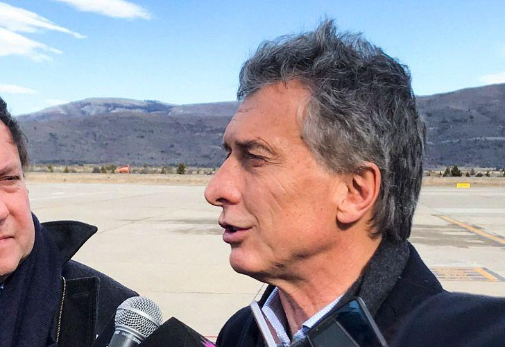 President Mauricio Macri, pictured in San Carlos de Bariloche earlier this week.