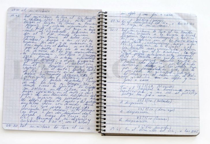 One of the notebooks.