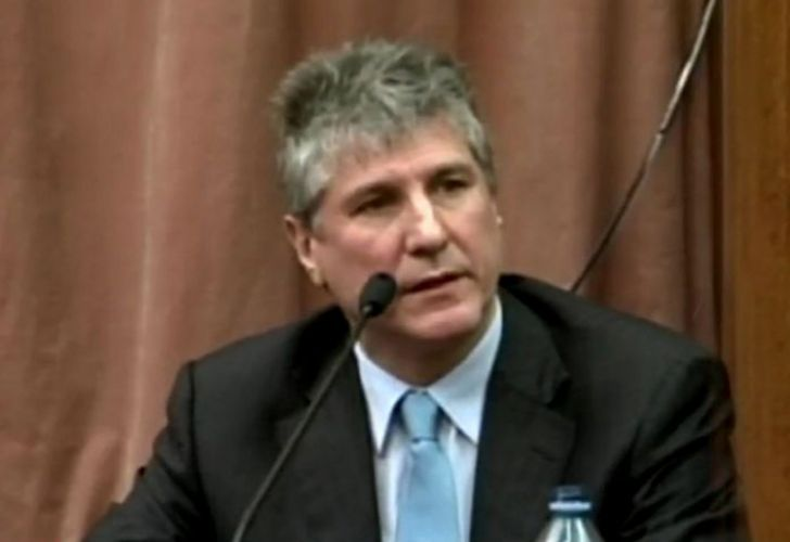 Former vice-president Amado Boudou.