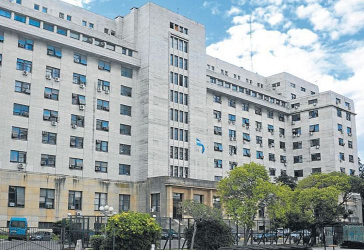 The Comodoro Py courthouse in the Retiro neighbourhood of Buenos Aires.