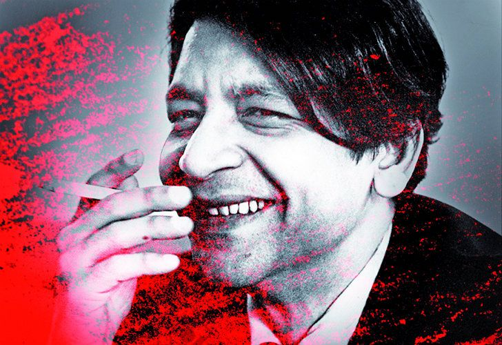 The death of the towering writer V.S. Naipaul.