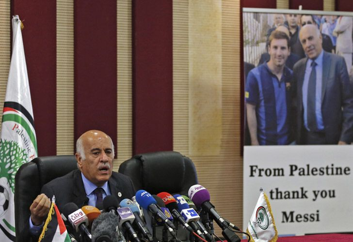 7237b2372bf Palestinian FA boss gets 12-month  match  ban over Messi comments ...