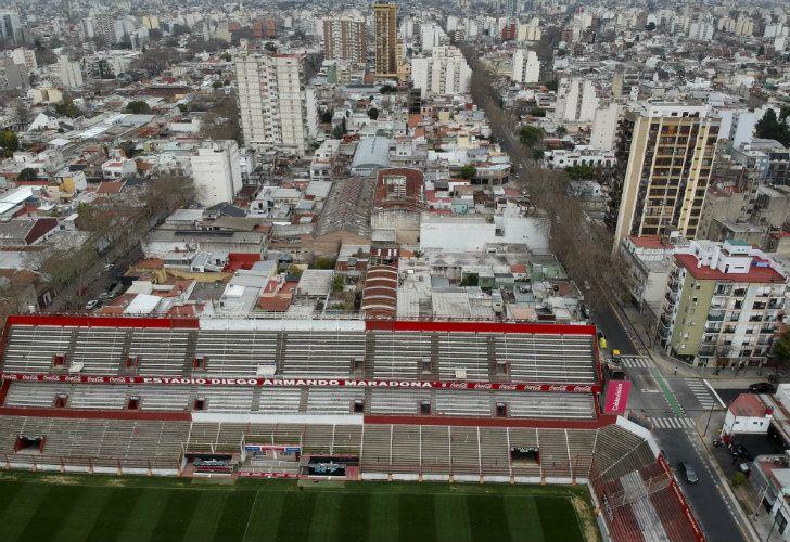 """Argentinos Juniors' stadium will change its name to """"Estadio Autocrédito Diego Armando Maradona."""""""