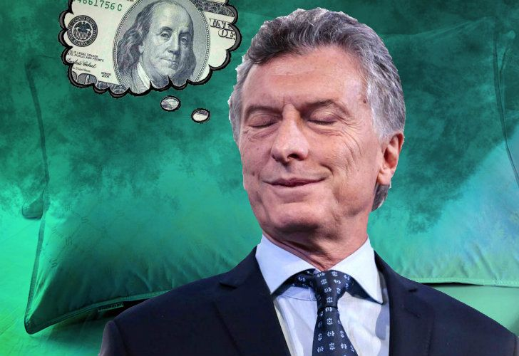Macri dreaming about a better future.