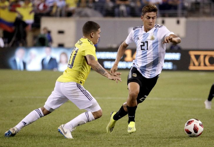 Paulo Dybala was a model of diplomacy during Argentina's brief US tour this week.