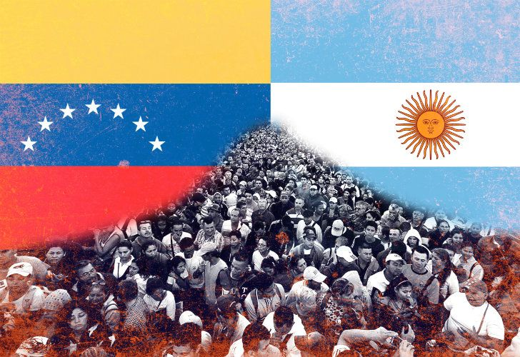 Argentina and Venezuela: a history of migration.