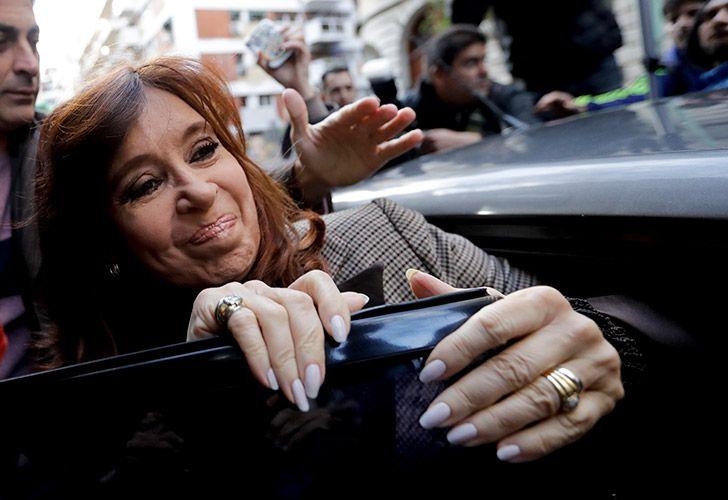 Former president and senator for Buenos Aires Province, Cristina Fernández de Kirchner.
