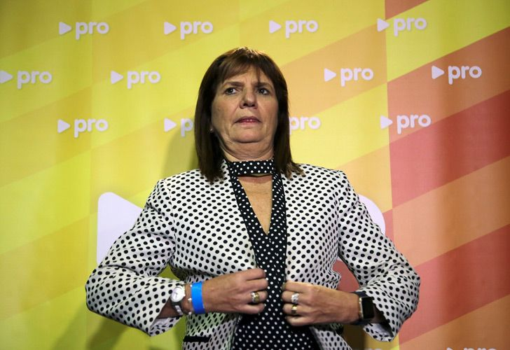Security Minister Patricia Bullrich, pictured in a file photograph.