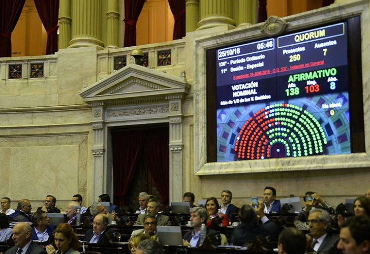 Despite fierce opposition, the Macri government's 2019 Budget passed the Lower House.