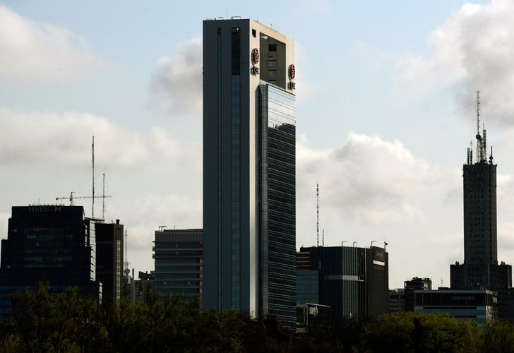 Buildings in Puerto Madero, Buenos Aires.