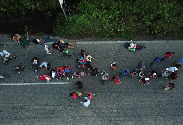 Migrants from Venezuela.