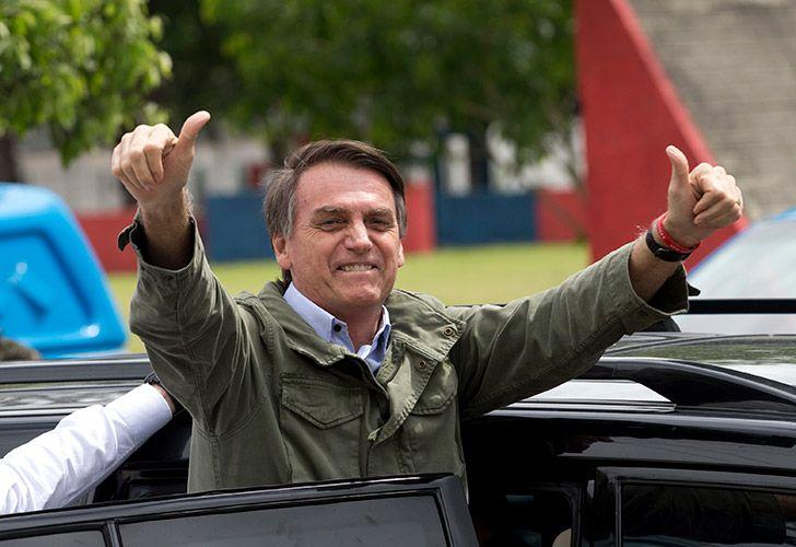 Jair Bolsonaro, Brazil's new president-elect.