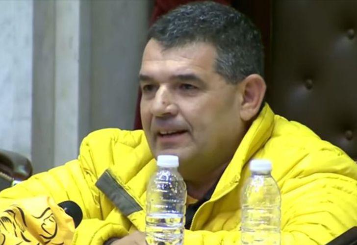 Lawmaker Alfredo Olmedo.