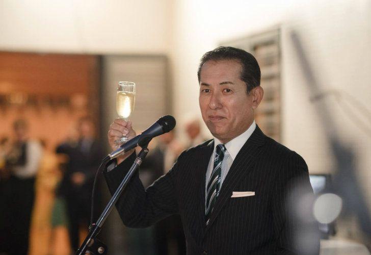 Japanese Ambassador Noriteru Fukushima