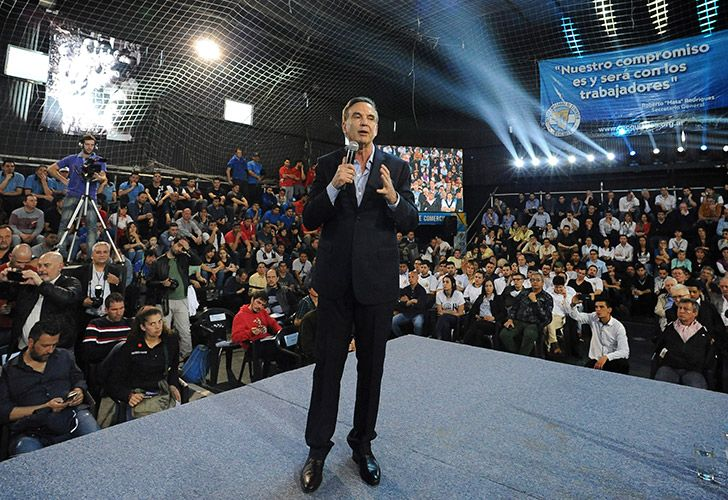 Senator Miguel Ángel Pichetto, pictured at a rally last month.