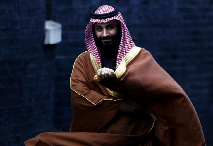 Saudi Crown Prince Mohammed bin Salman (file).