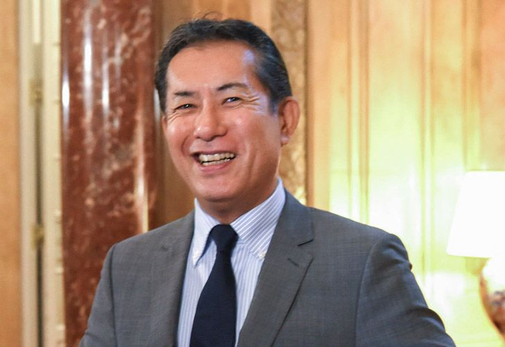 Japan's Ambassador to Argentina Noriteru Fukushima.
