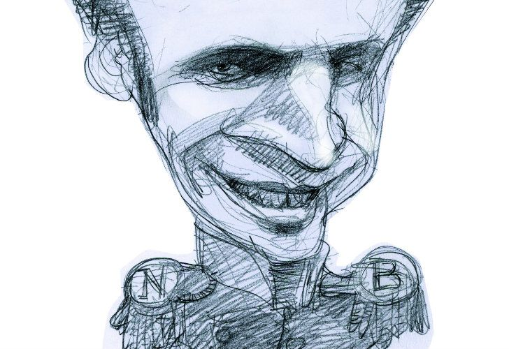 Macron as Bonaparte.