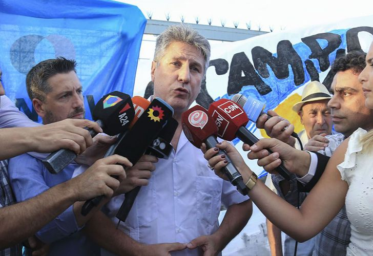 Former vice-president Amado Boudou is released from jail pending an appeals process, December 2018.