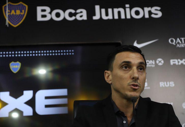 Boca Juniors' new sporting director, Nicolás Burdisso.