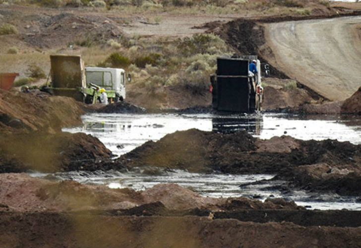Greenpeace said it found the dumps in November last year and started taking samples from them in May.