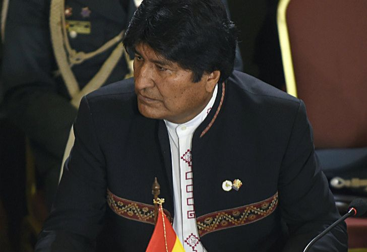 Bolivia's President Evo Morales, attends the Mercosur President's Summit in Montevideo this week.