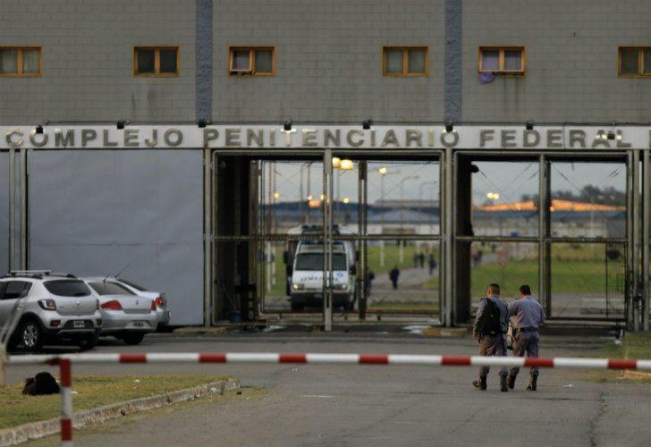 The Ezeiza jailhouse.