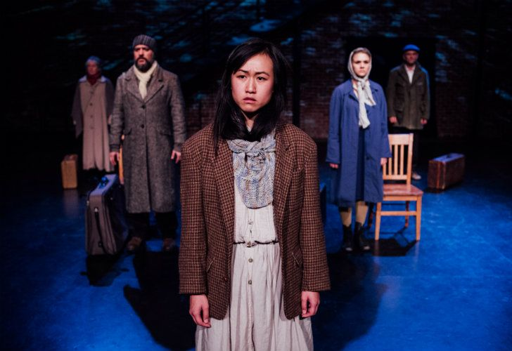 The New Colossus: A play highlighting immigrant diversity.