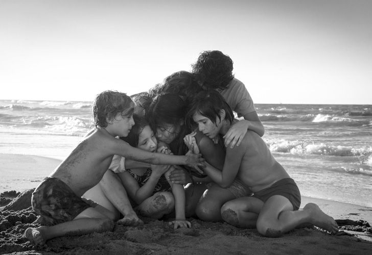 This image released by Netflix shows a scene from the film 'Roma,' by filmmaker Alfonso Cuaron. On Tuesday, the film was nominated for an Oscar for both Best Foreign Language Film and Best Picture. The 91st Academy Awards will be held on February 24.
