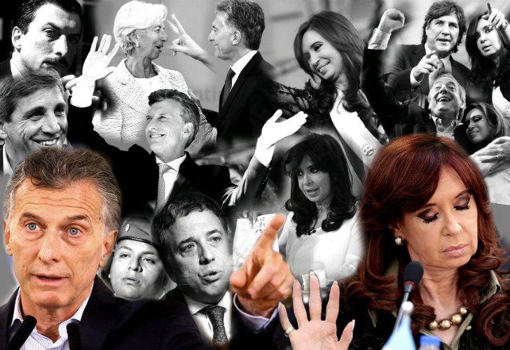Macri and CFK.