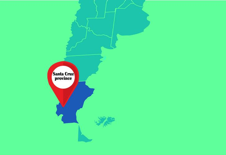 Santa Cruz province.