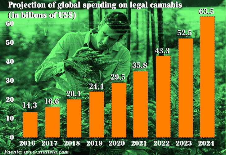 Cannabis industry on the rise.