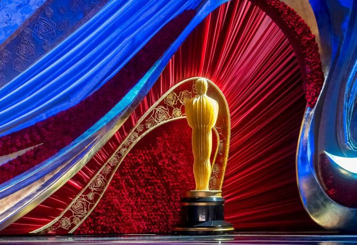 The stage is set for the 91st annual Oscar Awards at the Dolby Theater in Los Angeles, California.