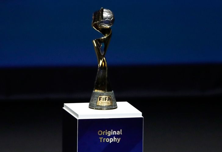 The Women's World Cup trophy. Wednesday marks 100 days until the tournament kicks off, opening on June 7 in Paris. The 24-team event will be played at nine stadiums in France over the course of a month, with the final set for July 7 in Lyon.