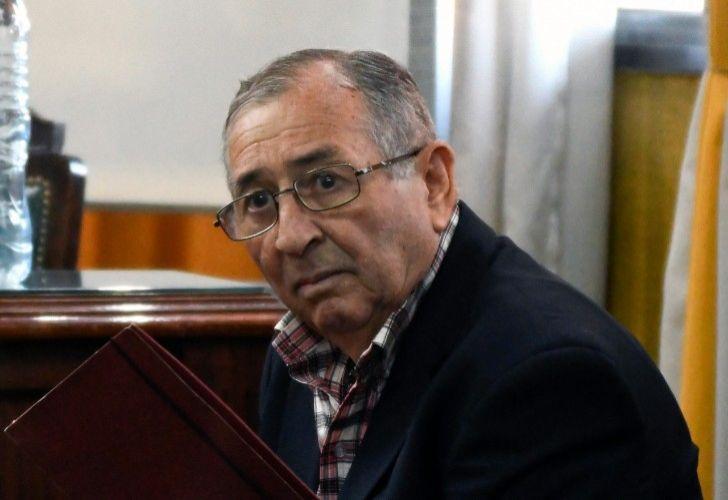 Retired military officer Segundo Héctor Carabajal.