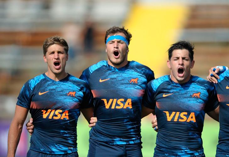 Argentina routed Chile 85-10 to complete an unbeaten run to the Americas Rugby Championship crown Saturday while Uruguay beat Brazil 42-20 to seize second place from the United States.