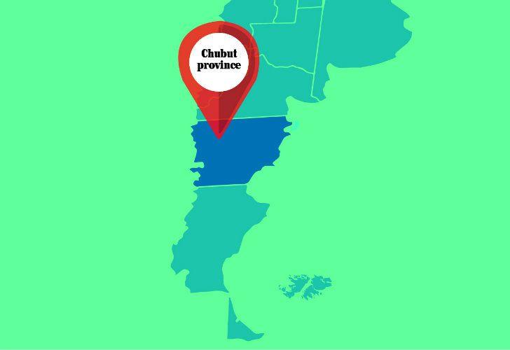 Chubut province.