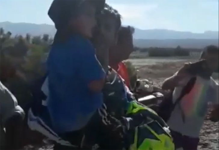 Authorities in the westernprovince and some 1,000 volunteers went searching for the boy – with a former Dakar Rally motorcyclist finding him 21 kilometres (13 miles) from where he was last seen.