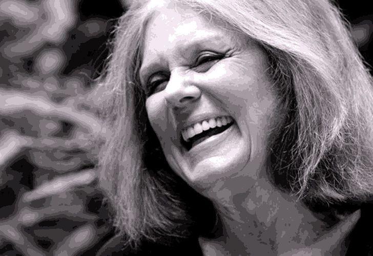Feminist icon and writer Gloria Steinem.