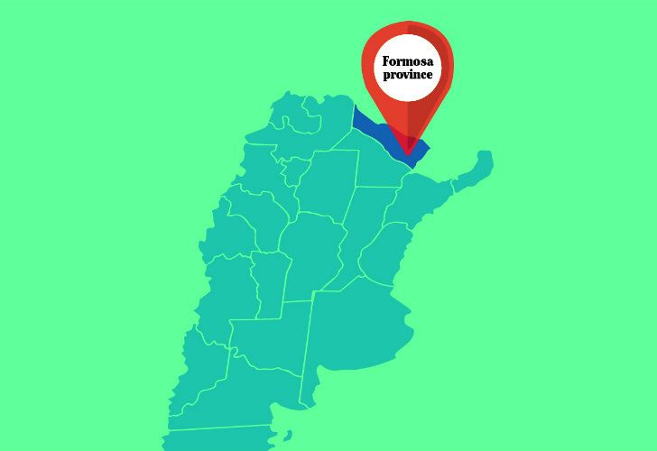 Formosa province.