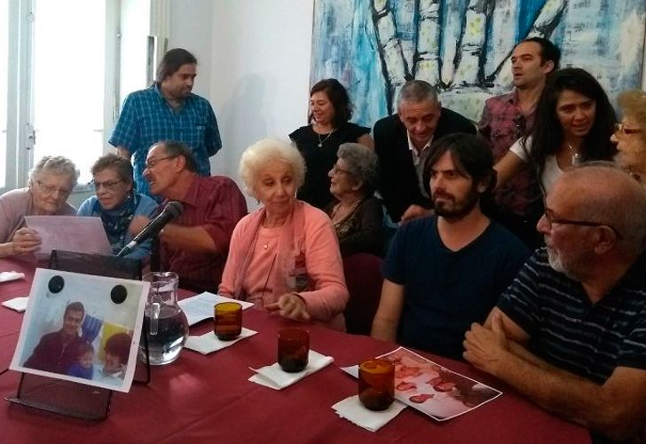 The Grandmothers of the Plaza de Mayo today announced they had discovered the 129th missing grandchild.